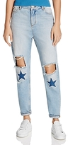 Sandro Monaco Embellished Jeans in Blue