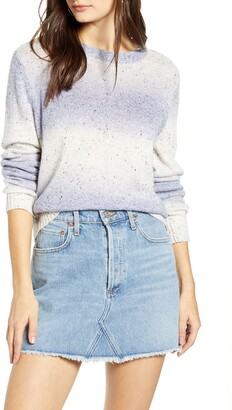 Vero Moda Frida Nep Flecked Ombre Sweater