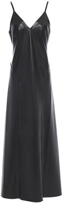 Nanushka Anira Vegan Leather Maxi Dress