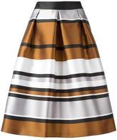 Blugirl metallic A-line skirt - women - Polyester - 42