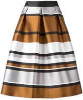 Blugirl metallic A-line skirt