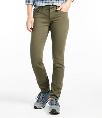 L.L. Bean Women's Bean's Performance Stretch Slim Leg Jeans, Color