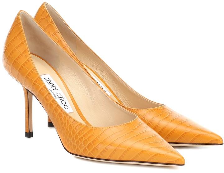 Jimmy Choo Orange Heels   Shop the