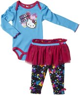 Hello Kitty Skegging Skirt Set (Baby) - Sky Blue-24 Months