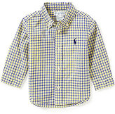 Ralph Lauren Baby Boys 3-24 Months Plaid Long-Sleeve Poplin Shirt