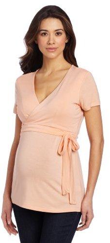 Ripe Maternity Women's Maternity and Nursing Ballet Wrap Shirt