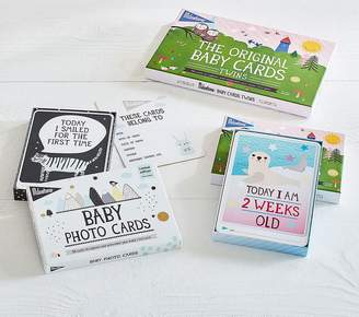 Pottery Barn Kids Milestone The Original Baby Cards, Twins