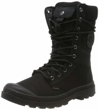 Palladium Unisex Adults 76182 Boots Black Size: 4 UK