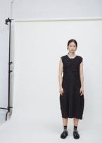 Issey Miyake black thunder dress