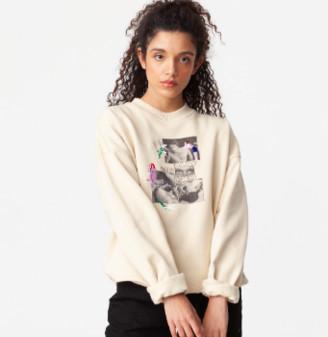 Carne Bollente Beige Call Me Back Sweater - s