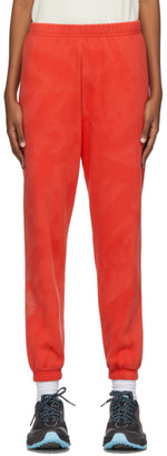 ERL SSENSE Exclusive Red Daisy Lounge Pants