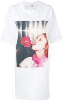 Kenzo photo print T-shirt dress - women - Polyamide/Spandex/Elastane/Viscose - S