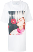 Kenzo photo print T-shirt dress