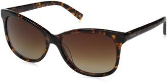 Polaroid Sunglasses Womens Pld4022s Polarized Rectangular Sunglasses