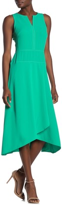 Donna Morgan Sleeveless High Twist Stretch Dress