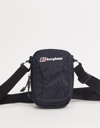 Berghaus Carryall mule small cross body bag in black