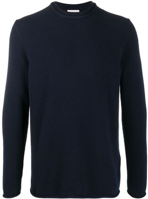 Moncler Knitted Crew Neck Jumper