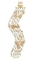 Jenny Packham Women's Star Beaded Multistrand Bracelet