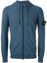 Stone Island zip hoodie - men - Cotton/Polyamide - XXXL