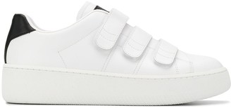 Maison Margiela Touch-Strap Low-Top Sneakers