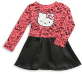 Hello Kitty Girls 2-6x Leatherette Dress
