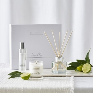 The White Company Lime & Bay Home Scenting Set, No Colour, One Size