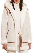 Lauren Ralph Lauren Women's Faux Shearling Parka With Faux Fur