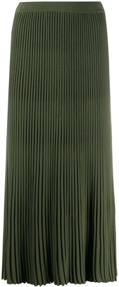 Christian Wijnants Pleated Midi Skirt