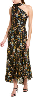 Nicholas Ava Silk Maxi Dress