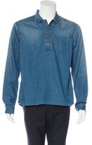 Chimala Distressed Chambray Shirt