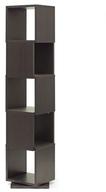 Ogden 5-Level Rotating Modern Bookshelf