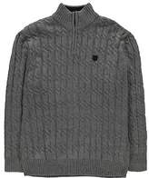 Kangol Mens Taras Knitted Jumper Lined Knitwear Sweater Pullover Long Sleeve
