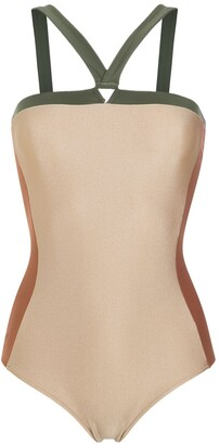 Adriana Degreas Panelled Swimsuit