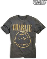 Charcoal Charlie Brown T-shirt