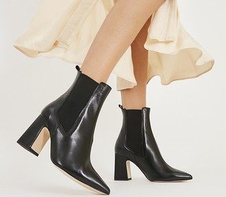 Office Adore Chelsea Boots Black Leather