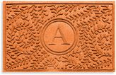 "Bed Bath & Beyond Weather GuardTM Boxwood Monogrammed ""A"" 23-Inch x 35-Inch Door Mat"