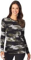 Cuddl Duds Women's Fleecewear Long Sleeve Crewneck