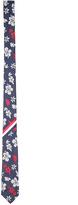 Thom Browne Hibiscus Silk Tie