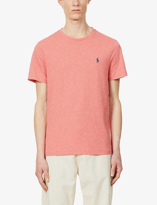 Polo Ralph Lauren Logo-print custom slim-fit cotton-jersey T-shirt