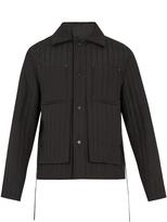 Craig Green Tie-waist quilted jacket