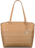 Nine West Sheer Genius Perforated Tote