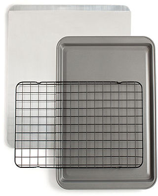 Martha Stewart CLOSEOUT! Collection Baking Sheet, Cookie Sheet & Cooling Rack Set