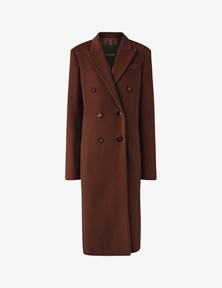 Joseph Cam double-breasted wool-blend coat