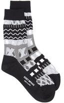 Issey Miyake printed socks - women - Nylon - One Size