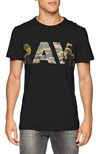 G Star G-Star Men's Tahire R T S/S T-Shirt, (Dark Black)