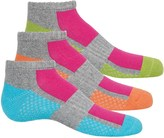 Stride Rite Half-Cushion Arch Support Socks - 3-Pack, Below the Ankle (For Girls)
