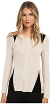 Nic+Zoe Stitched Knit Top