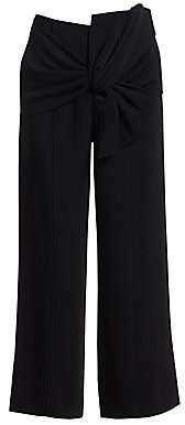 Cinq à Sept Women's Connie Cropped Tie Waist Pants
