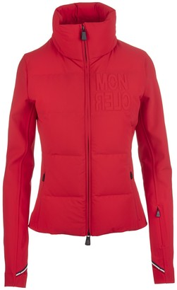 MONCLER GRENOBLE Woman Red Padded Cardigan