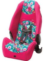 Cosco LATCH equipped 2-in-1 Highback Booster Car Seat, Spring Day, 5-Point Harness with Up-Front Adjustment